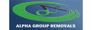 Alpha Group Removals logo