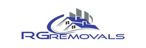 R G Removals logo