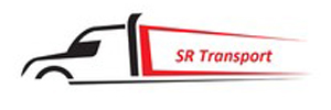 S R Transport logo