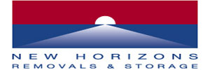 New Horizons Removals and Storage logo