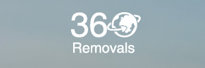 360 Removals logo