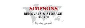Simpsons Removals And Storage logo