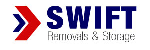 Swift Removals and Storage logo