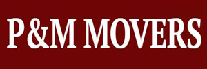 P&M Movers logo