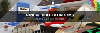 6 Incredible Bedrooms Inspired by Tech Giants