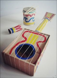 Recycled guitar