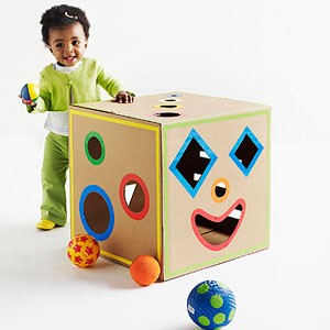 Toddlers shape box