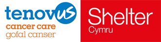 Our chosen charities are Tenovus Cancer Care and Shelter Cymru