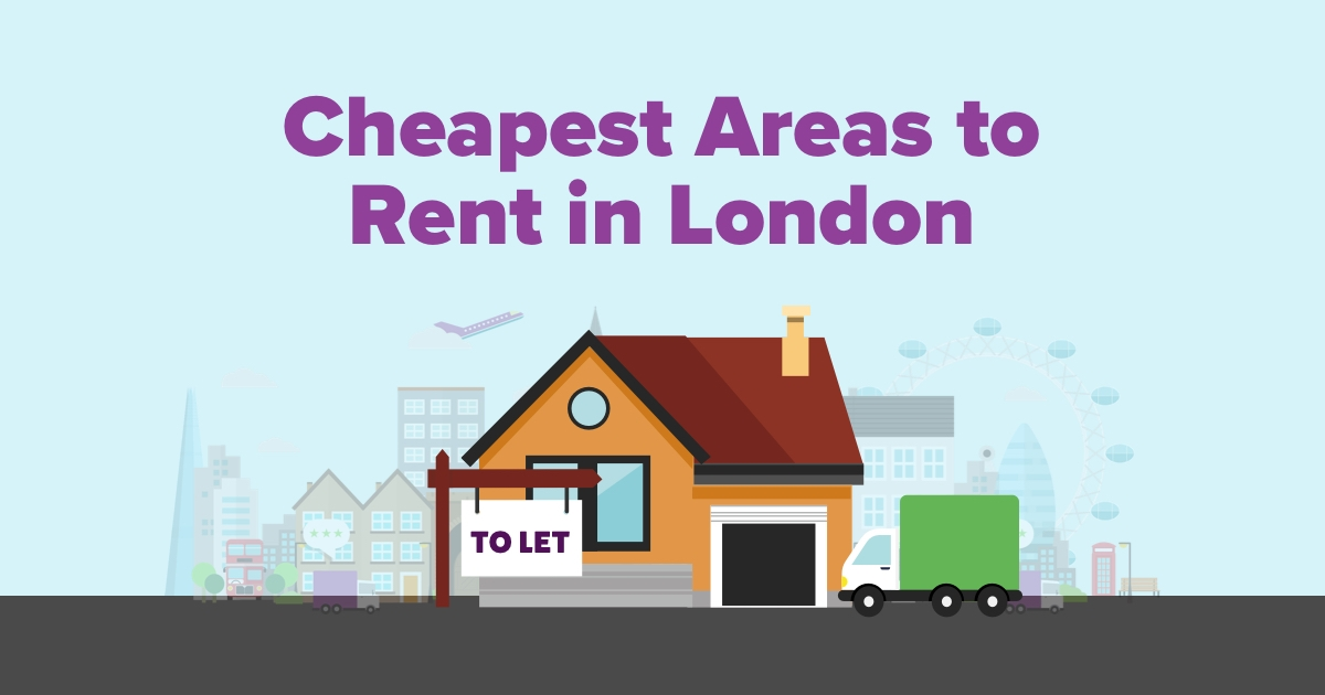 10 cheapest areas to rent in london in 2019 compare my move. Black Bedroom Furniture Sets. Home Design Ideas