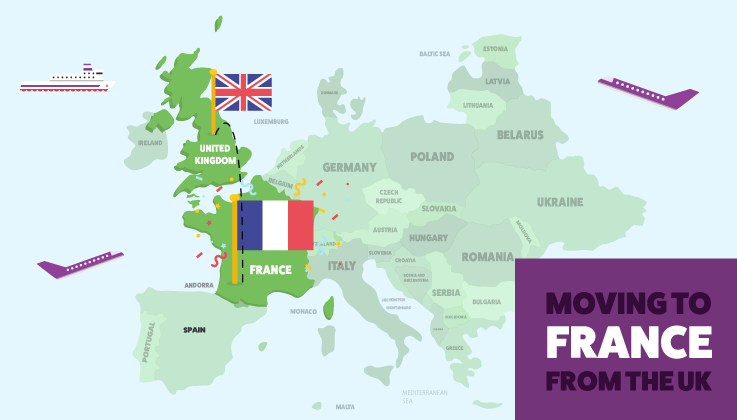How to Move to France from the UK