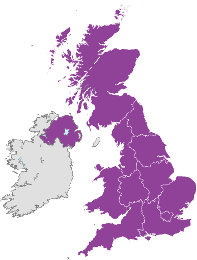 Uk Removals Map